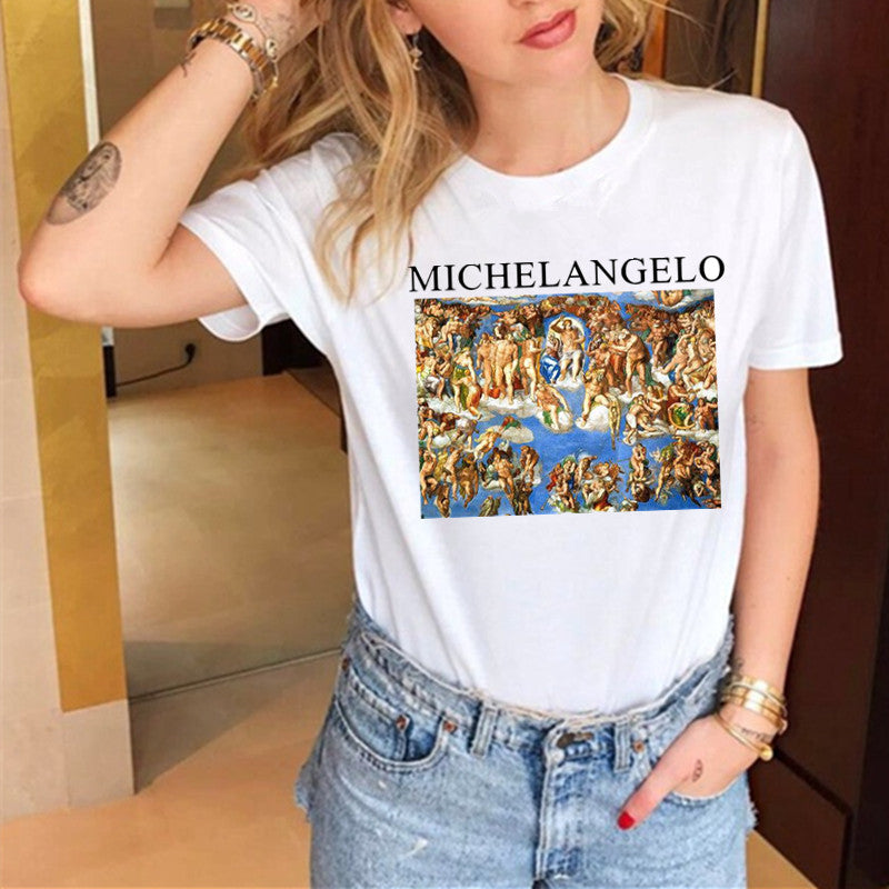 Women T-shirts Casual Harajuku Love Printed Tops Tee Summer Female T shirt Short Sleeve T shirt For Women Clothing