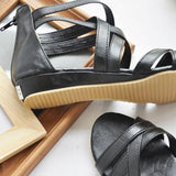 Flat Ankle-Wrap Women's Sandals-shoes-SheSimplyShops