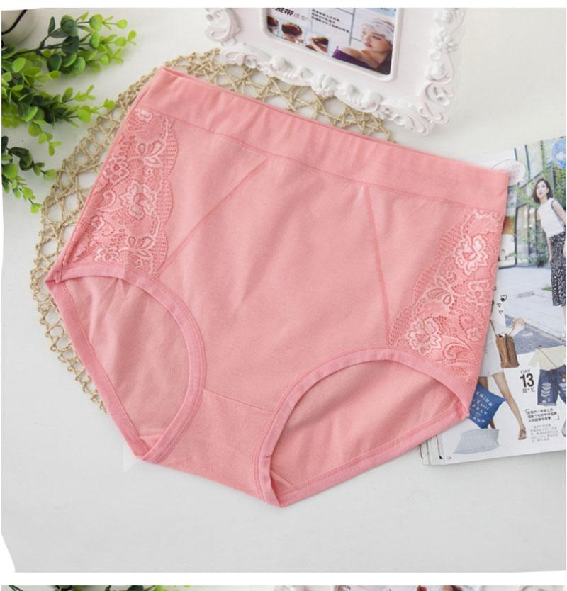 8 Color Sexy Female Briefs Panties Cotton Soft Underwear Women's Underwear Women Lingerie Intimates-INTIMATES-SheSimplyShops