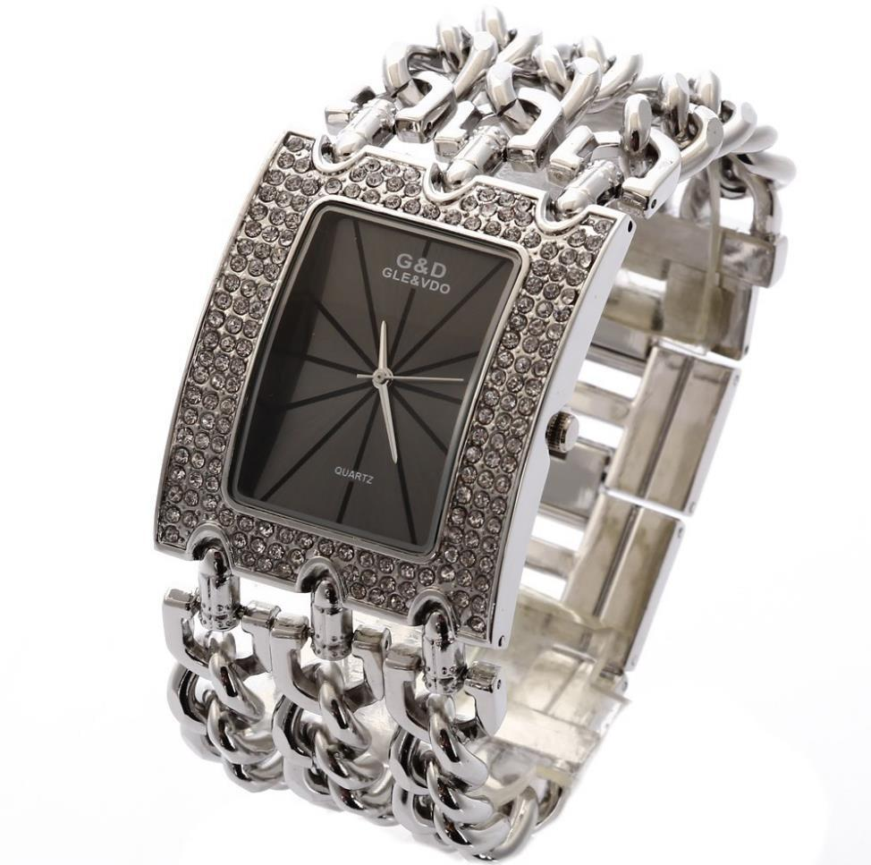 Top Luxury Women Wristwatches Quartz Watch Ladies Bracelet Watch Dress