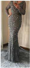 Luxury Beading Mermaid Tulle Dress-Dress-SheSimplyShops