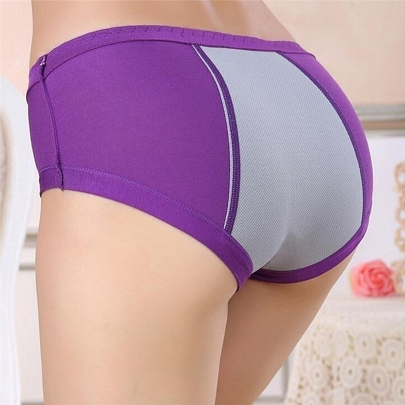 Physiological Briefs Leakproof Menstrual Period Lengthen The Broadened Female Underwear Health Seamless Women Panties