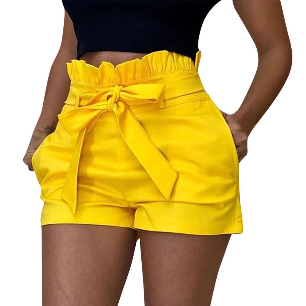 women's shorts Woman short feminino Hollow Out Summer Woman short femme