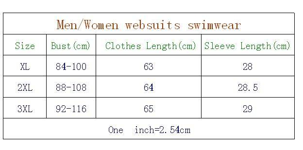 Sharkskin pattern Men and Women Short Sleeve Wet suits Sports Swimsuit Bodysuit Athletic One Piece Rash Guards Swimsuits-SheSimplyShops