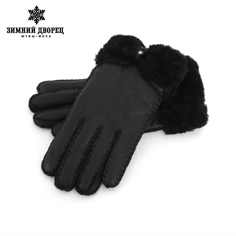 gloves sheep fur gloves female manual brand fashion mittens women winter mittens women gloves leather gloves-GLOVES-SheSimplyShops