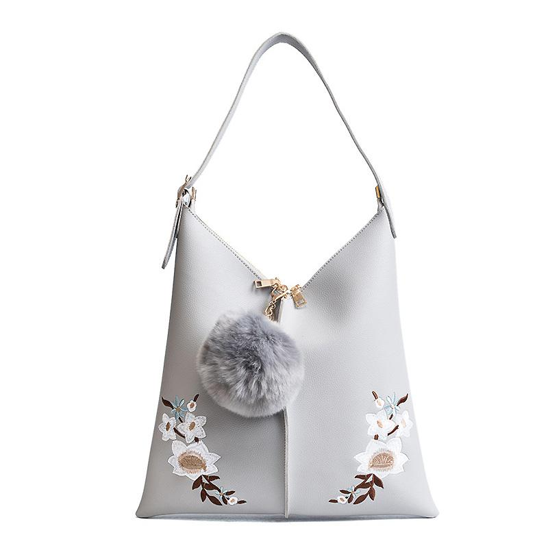 Bucket Bag Women Handbag Famous Brands Flower Tote Female Messenger Bags Girls Cross Body Bolas Fashion Women Bag-BAGS-SheSimplyShops