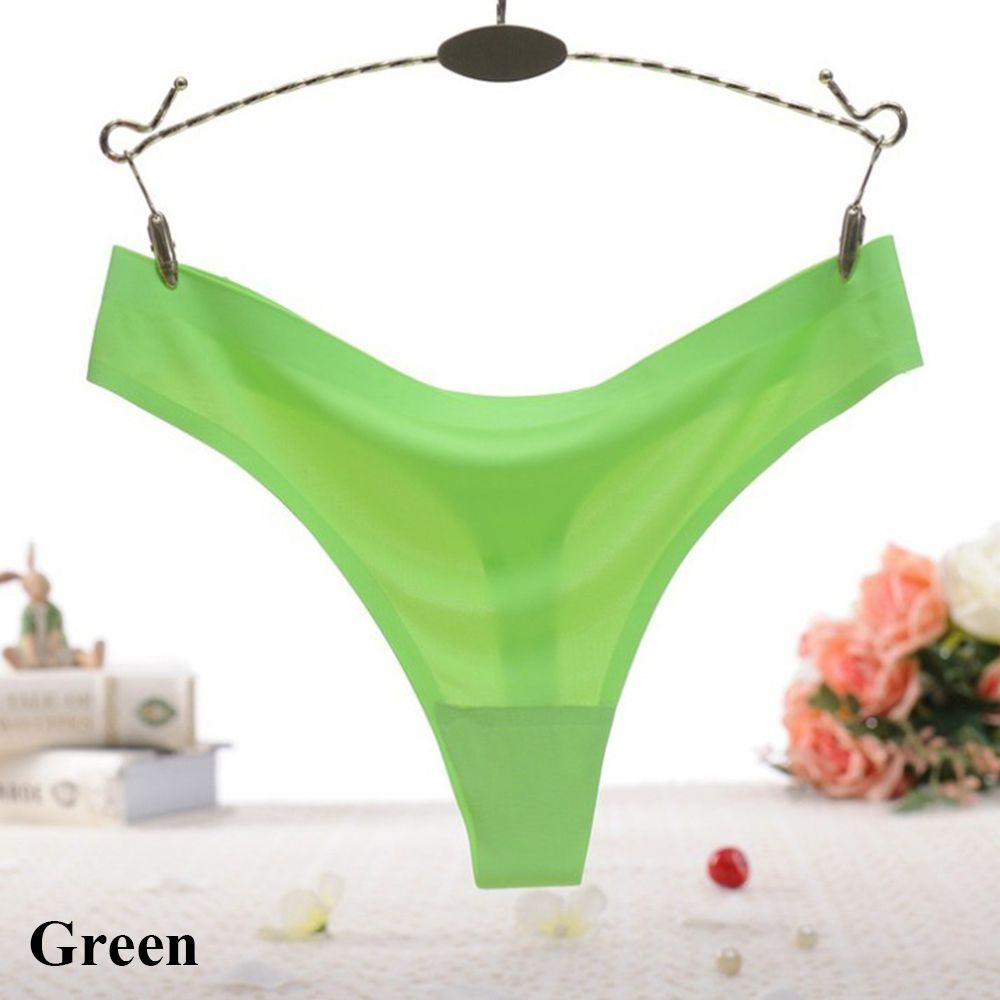 Women G String Thongs Low Waist Tanga Briefs Panties Ladies Seamless Lingerie Female Underwear Thong