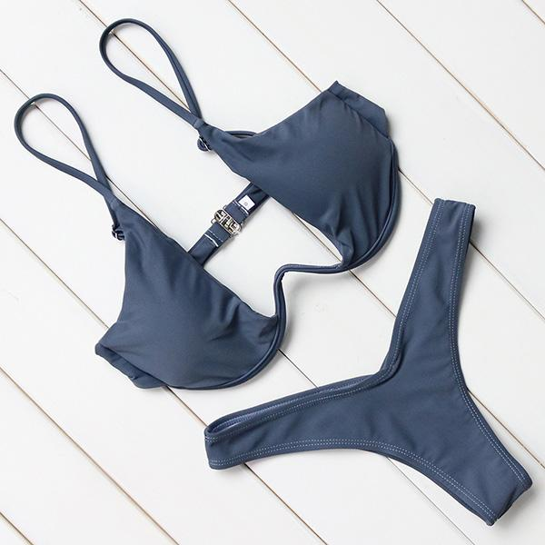 Bikini Swimwear Women Swimsuit Sexy Push Up Underwire Swimming Bathing Suit Beachwear Bikinis Set-SWIMWEAR-SheSimplyShops