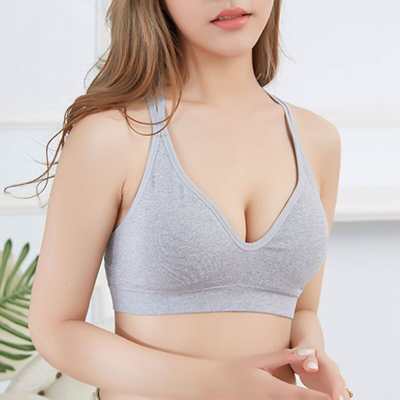 CMENIN Women Cropped Padded Bra Alphabet Straps Modal removable chest pad Tube Tops Women Seamless Bandeau Top Strapless B0022