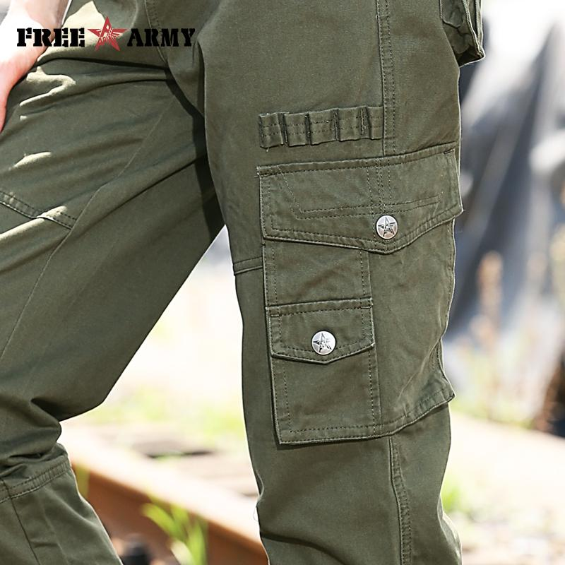 Fashion Autumn Pants Military Army Women Pants Cotton Leisure Baggy Pants Women Overalls Winter Women Pants Casual-PANTS-SheSimplyShops