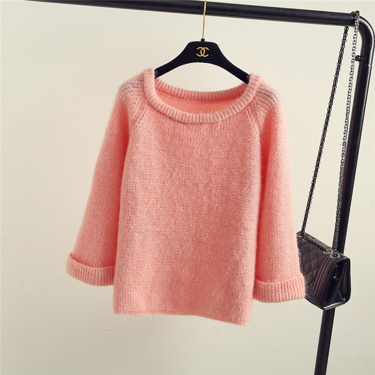 Korean Style Knitted Pullover-SWEATERS + CARDIGANS-SheSimplyShops