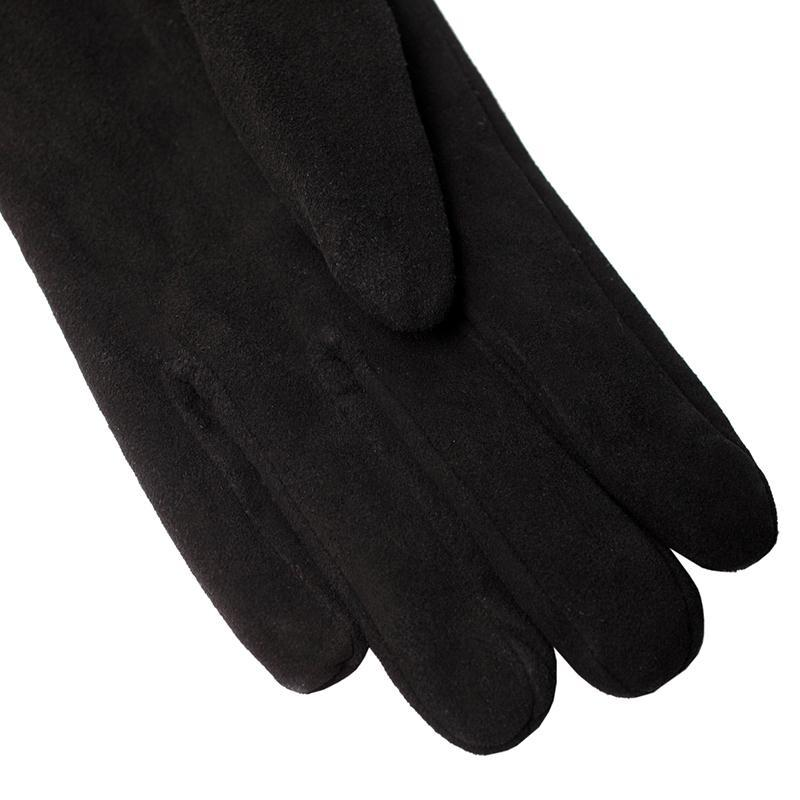 Fashion Matte Leather Gloves Genuine Leather Black Leather Gloves, Long Leather Gloves Women Matte Gloves-GLOVES-SheSimplyShops