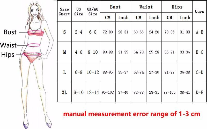 Padded Swimwear Women Print Bikinis Set Push Up Swimsuit Halter Bandage Bathing Suit-SWIMWEAR-SheSimplyShops