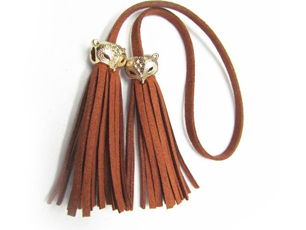 Women Bag Adornment Ornament Tassel Fringe PU Leather Pendant For Bag Purse Buckle Handbag Female Accessories-BAGS-SheSimplyShops