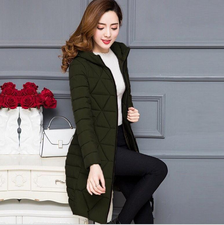 Plus Size 6XL Light&Thin Autumn Winter Women Jackets Female Down Cotton Jacket Slim Outerwear Casual Female Parkas Top Q595