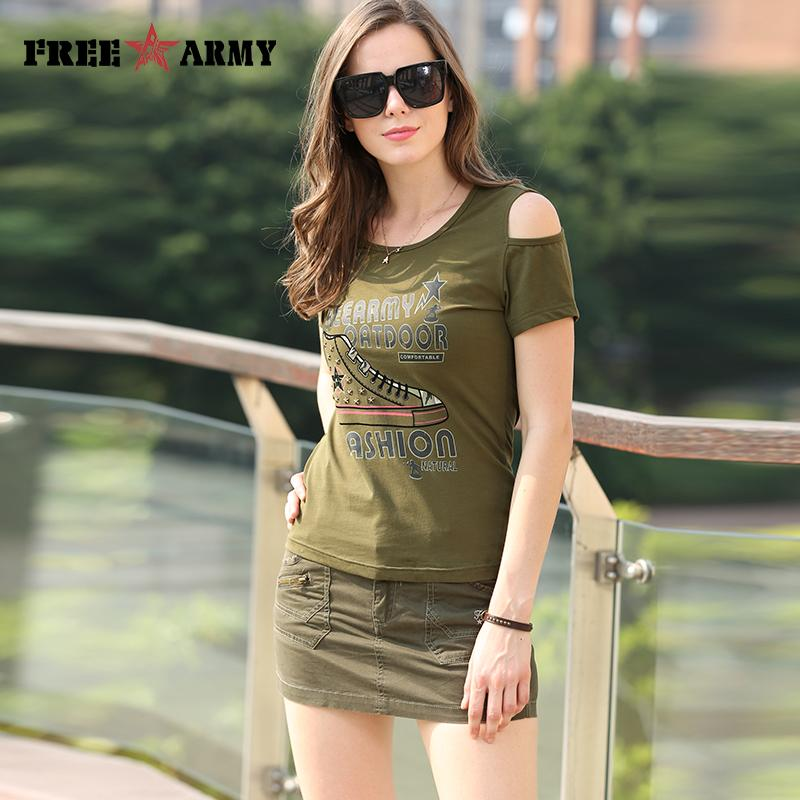 Sexy Ladies Shorts Skirt Logo Embroidery Casual Slim Fitted Military Army Women Skirt Shorts With Pockets-SKIRTS-SheSimplyShops