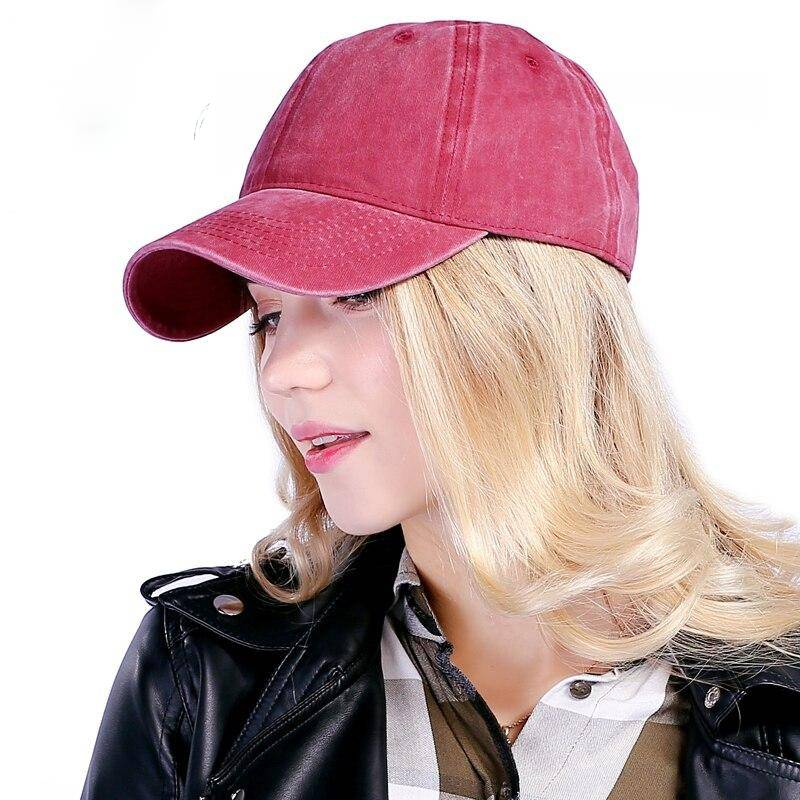 Cotton Snapback Hats Cap Baseball Cap solid Hats Hip Hop Fitted hats Hats For Men Women