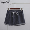 Women Sports Hot Shorts 2019 Summer New European Style Causal Lady Cuffs Cotton Sexy Home Short Elastic Women's Fitness Shorts