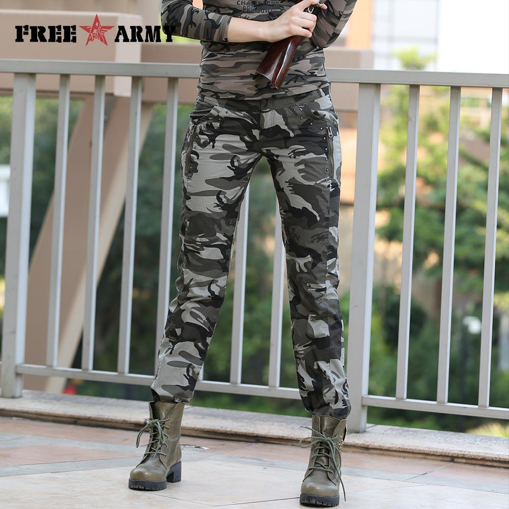 Women Casual Pants Summer Plus Size Jogger Pants Military Camouflage Women Pants Slim Fit-PANTS-SheSimplyShops
