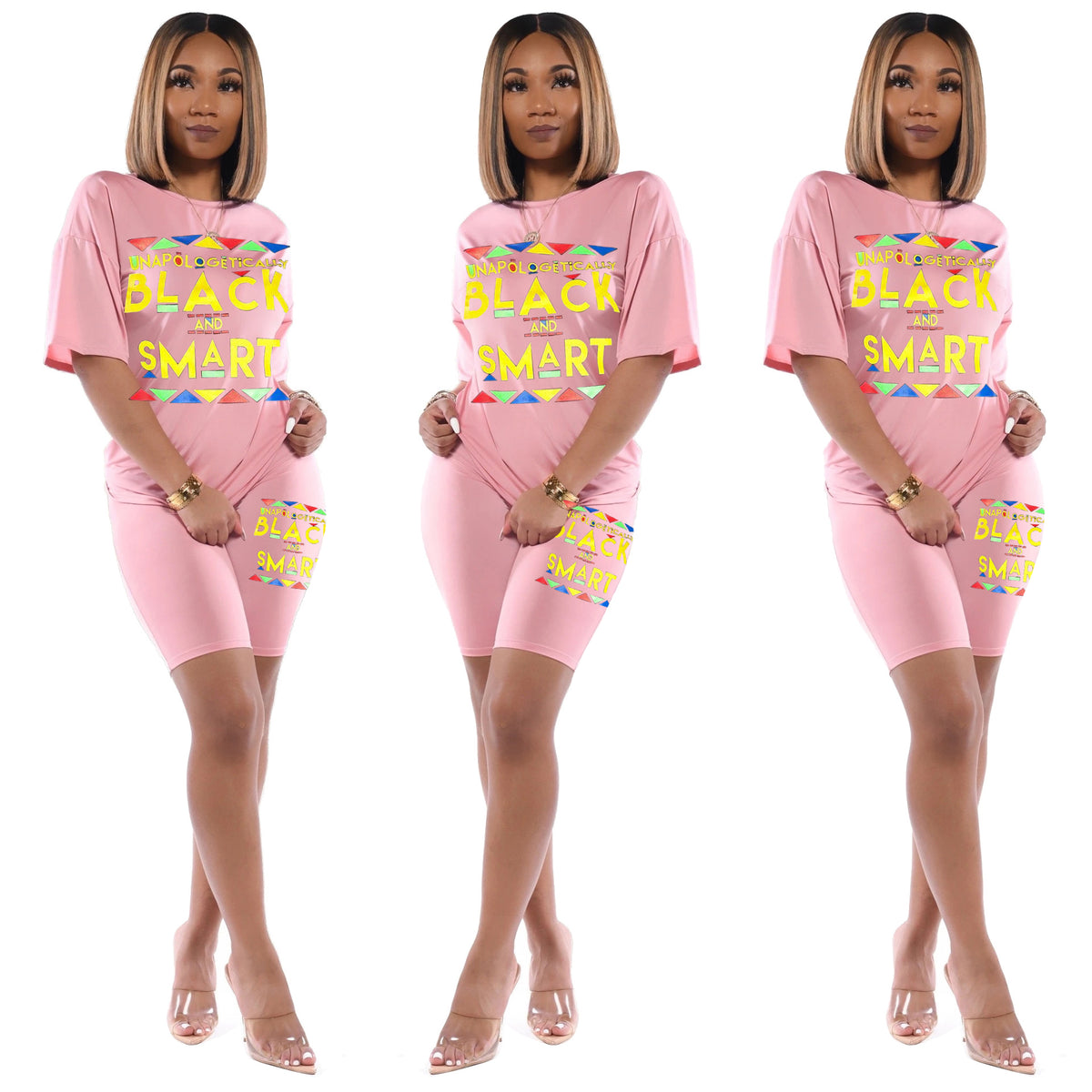 Summer Women Set Tracksuits Letter Print Short Sleeve Tops+Shorts Night Party Street Two Piece Suit Outfits GL6139