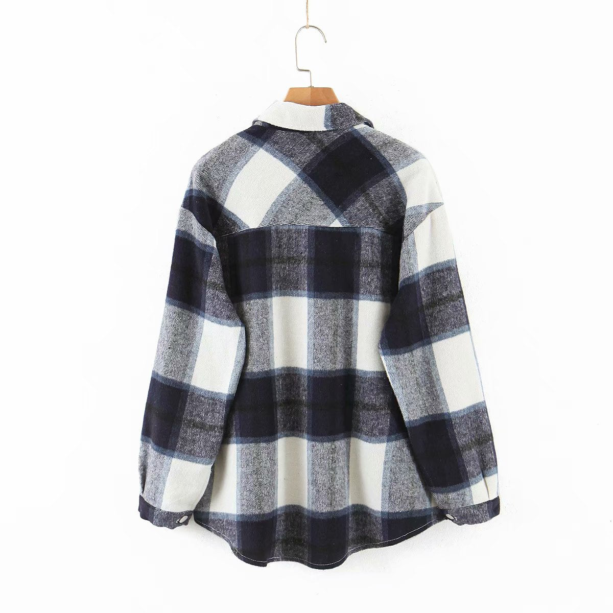 toppies vintage lattice shirt jackets womens loose single breasted coat 2020 spring plus size jackets