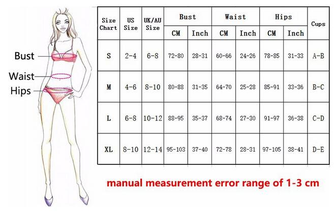 Women Swimwear Striped Pushed Up Paded Underwire Swimsuits Bandage Women Bathing Suits-SWIMWEAR-SheSimplyShops