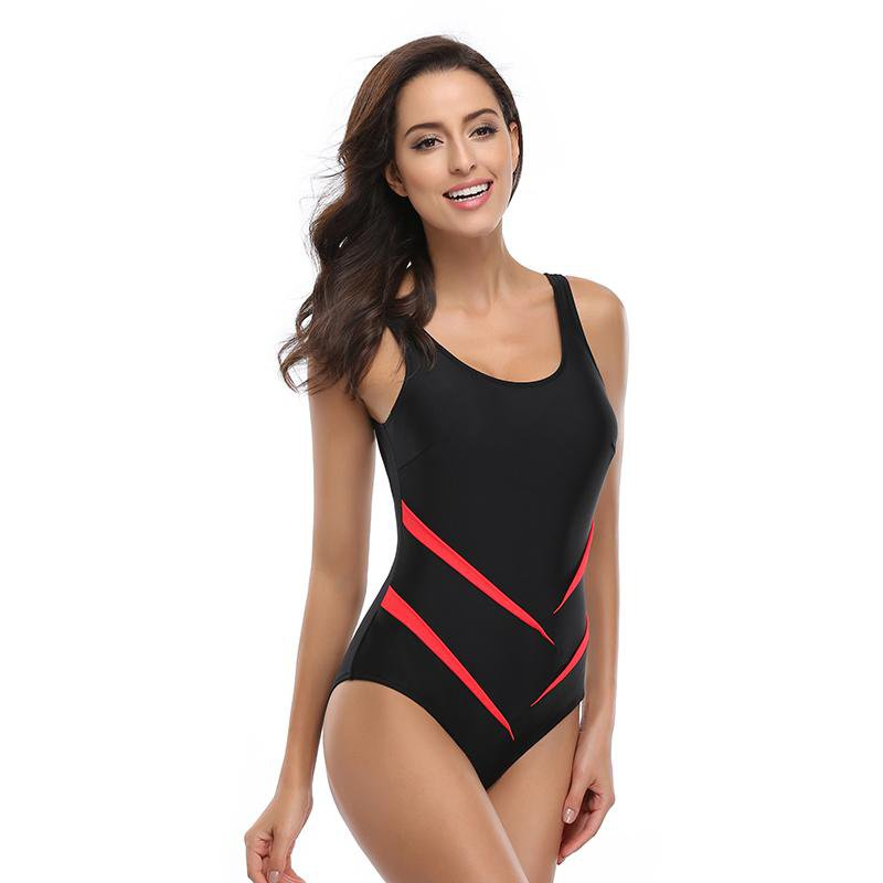 Women One Piece Swimsuit Sexy Backless One Piece Swimwear Women's Swimming Bathing Suit Girl's Sport Beachwear-ACTIVEWEAR-SheSimplyShops