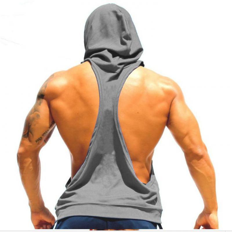 Skull ZYZZ Golds Bodybuilding Stringer Hoodies Stringer Men Hoodie Fitness Tank Top Shark Golds Clothing-HOODIES-SheSimplyShops
