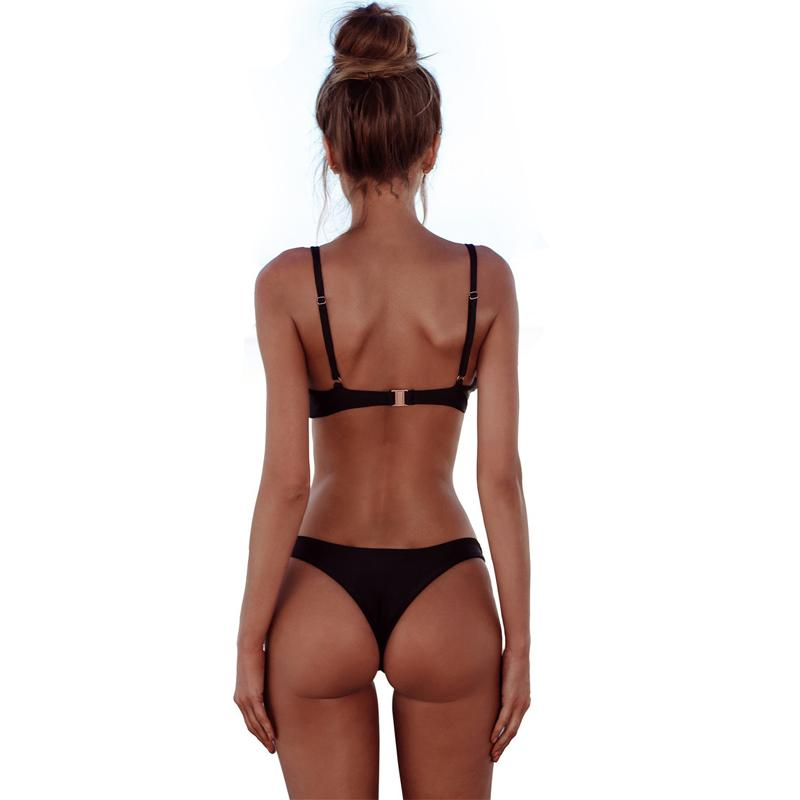 Low Waist Bikinis Swimwear Women Push Up Bikini Swimsuit Bathing Suit Biquinis Set-SheSimplyShops