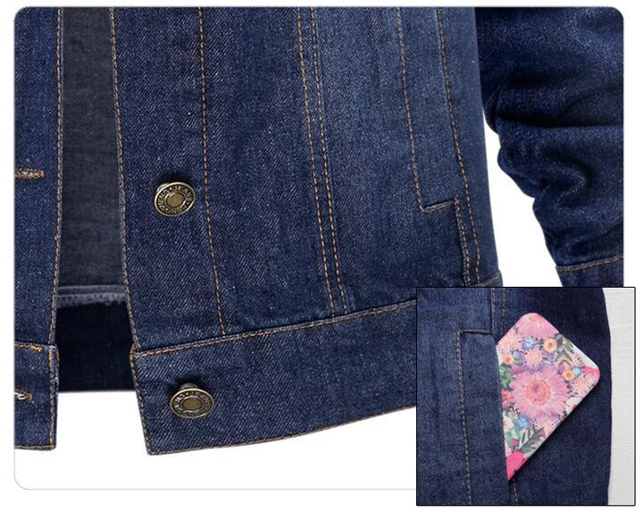 Large size 5XL Autumn Winter Women Denim Jacket Long Sleeve Short Denim Coat For Women Jeans Jacket Plus Size Outwear