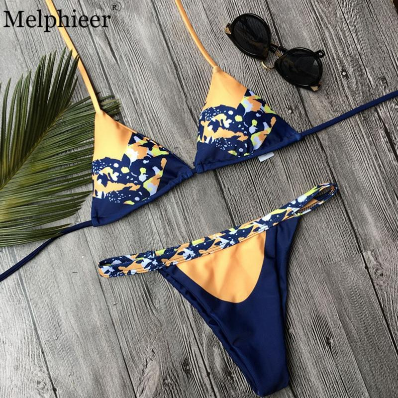 Sexy Hollow Bikinis Women Swimsuit Summer Beach Wear Bikini Set Push Up Swimwear Bandage Bathing Suit Retro Solid Bikini-SWIMWEAR-SheSimplyShops