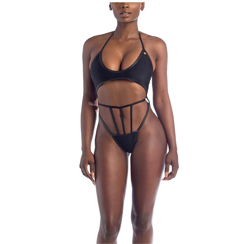 One Piece Swimsuit Women Push Up Swimwear Backless Beachwear High Cut Bathing Suit Female-SWIMWEAR-SheSimplyShops