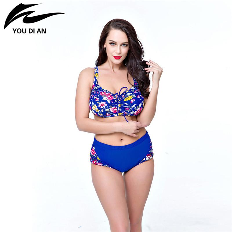 Women Floral Swimming Wear Bathing Suit-SWIMWEAR-SheSimplyShops