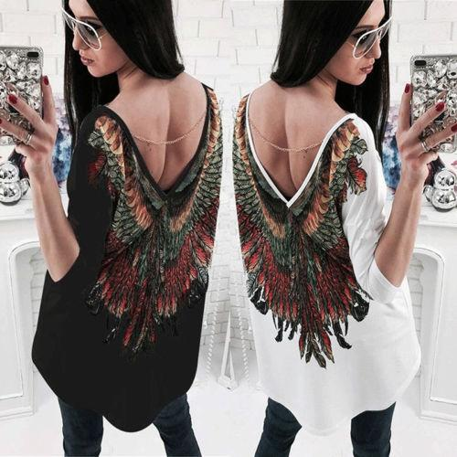 New Fashion Women's Ladies Casual Long Sleeve Summer Loose Tops Blouse Cotton Chiffon Long Clothing Summer Blouses-Blouse-SheSimplyShops