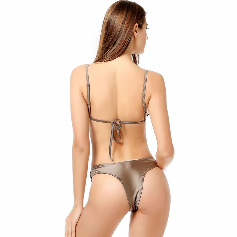Bikini Padded Swimsuit Bandage Swimwear Women Push Up Beachwear Bikini Bathing Suits-SWIMWEAR-SheSimplyShops