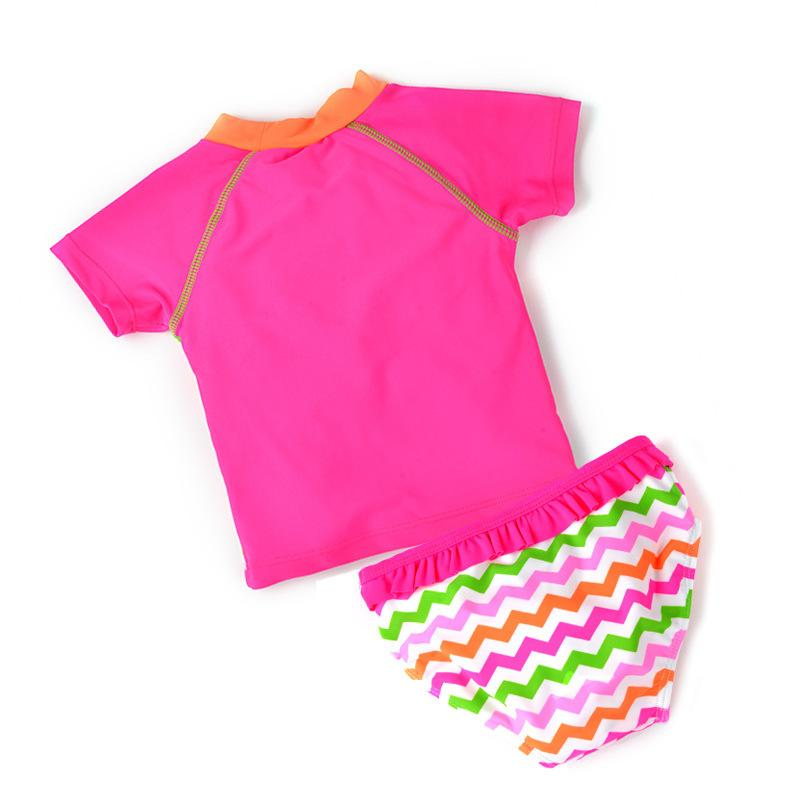 Newborn Baby Bikini Sets Girl Swimsuit Infant Bathing Suits Summer Girls two Pieces Swimwear Shorts Pants Beach T-shirt-PANTS-SheSimplyShops
