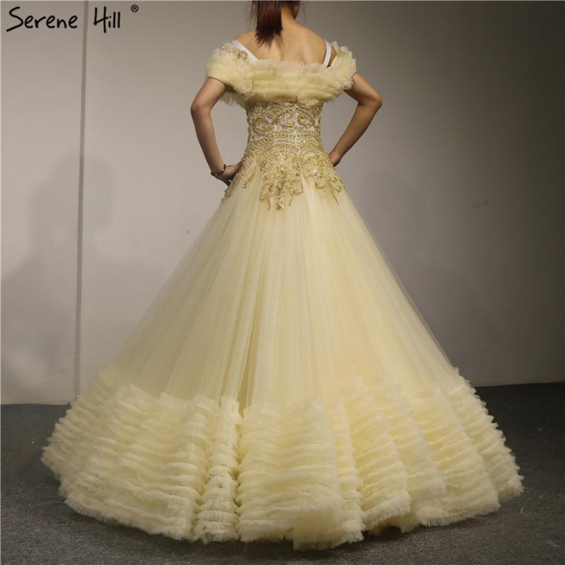 Newest Design Fashion High-end Evening Dresses Sleeveless Beading Pearls Sexy Evening Gowns-SheSimplyShops