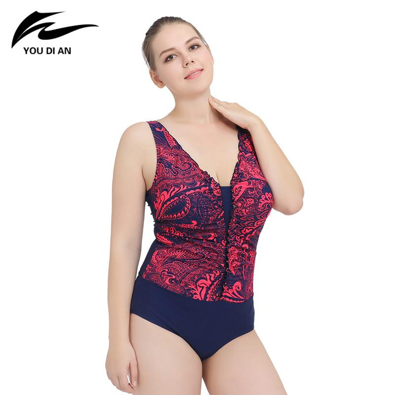 One Piece Swimsuit Beach Printing Patterns Female Swimsuit Swimwear Women Beach Dress Bathing Suits-Dress-SheSimplyShops