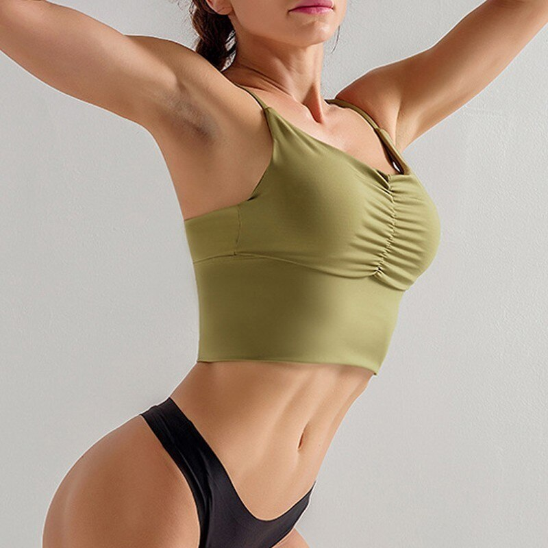Padded Sport Bra Top Fitness Women Yoga Bra Push Up Sports Bra Gym Top Brassiere Sport Femme Yoga Top Sports Wear For Women Gym