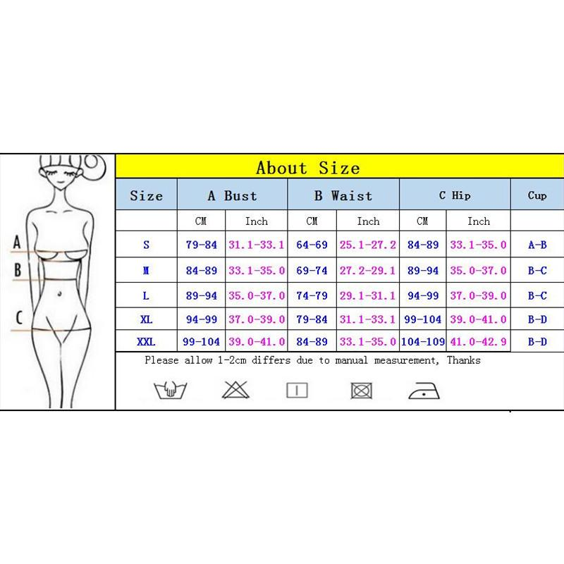 Women Bikinis Swimsuit Patchwork Bikini Set Swimwear Female Beachwear Bather-Bottoms-SheSimplyShops
