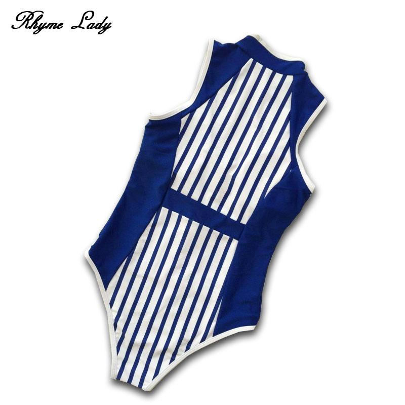 One piece swimsuit women swimwear beach wear striped bathing suit push up-SWIMWEAR-SheSimplyShops