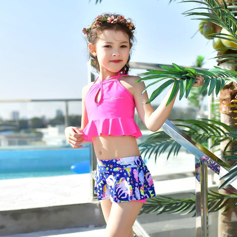Lady swim bathing suit princess swimsuit beautiful and colorful swimwear for teenager child girls swimming suits-SWIMWEAR-SheSimplyShops