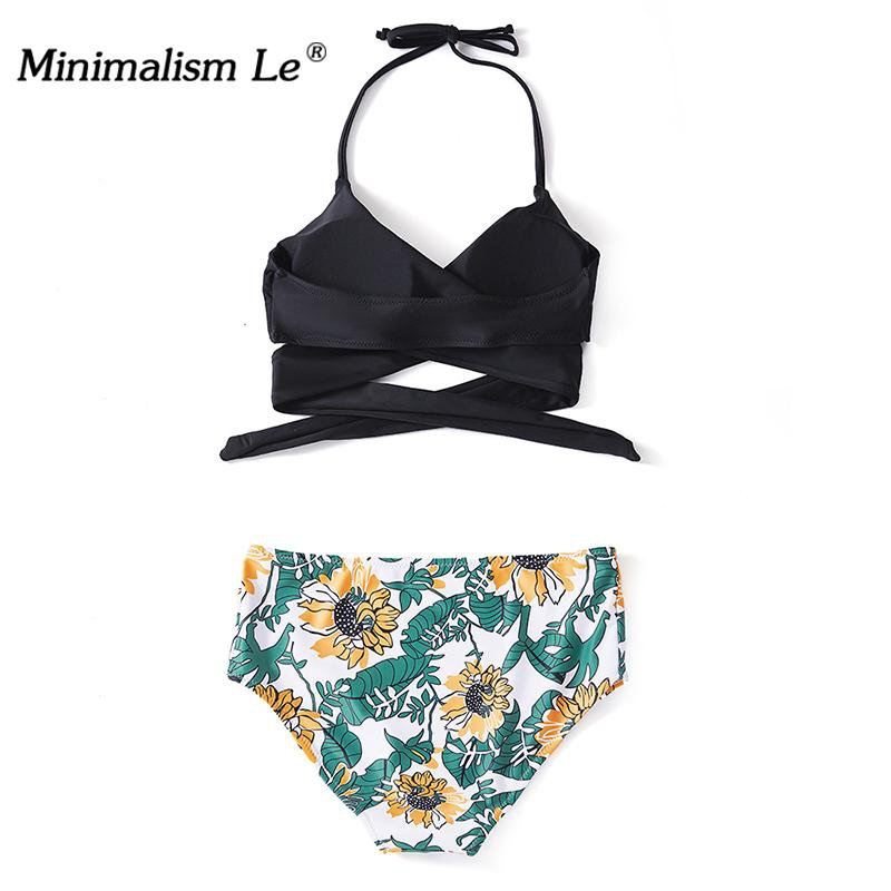 High Waist Bikinis Swimsuit Women Bikini Set Beach Wear Solid Bathing Suit Bikini-SheSimplyShops
