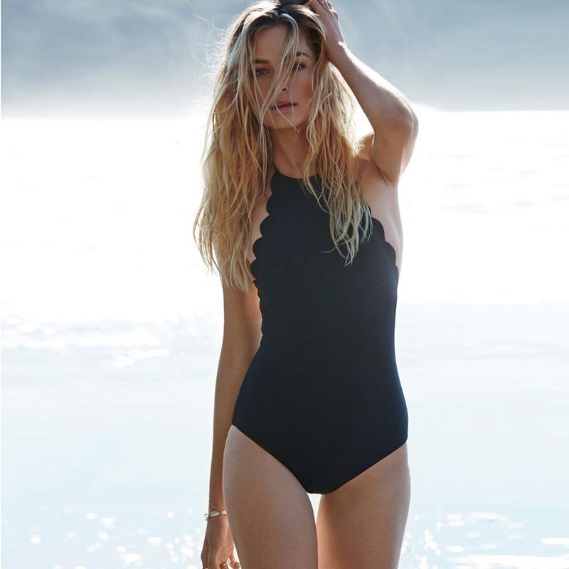 Sexy One Piece Swimsuit Women Swimwear Beachwear Swim Backless Bandage Monokini Swimsuit Bathing Suits bodysuit-SWIMWEAR-SheSimplyShops