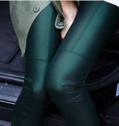 Sexy imitation Leather Slim PU Points Pants-PANTS-SheSimplyShops