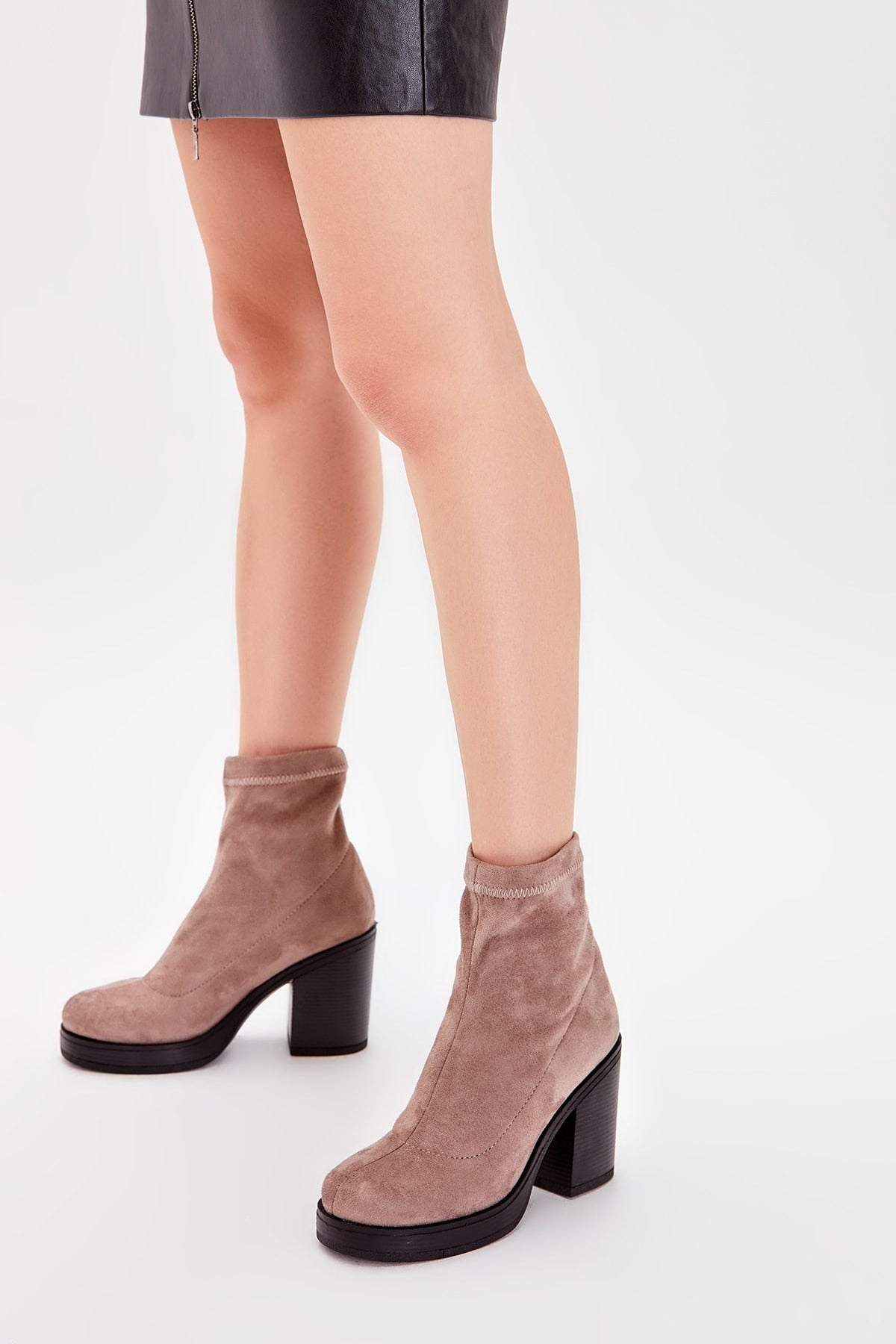 Mink Suede Stretch Women 'S Boots TAKAW20BO0110