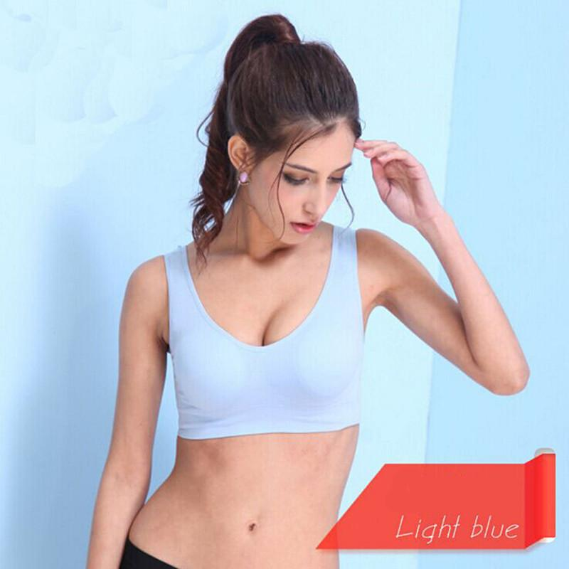 Sexy Lady Breathable Yoga Bra Shockproof Bra Quickly Dry Fitness Sports Tank Top Workout Short Vest For Women-SheSimplyShops