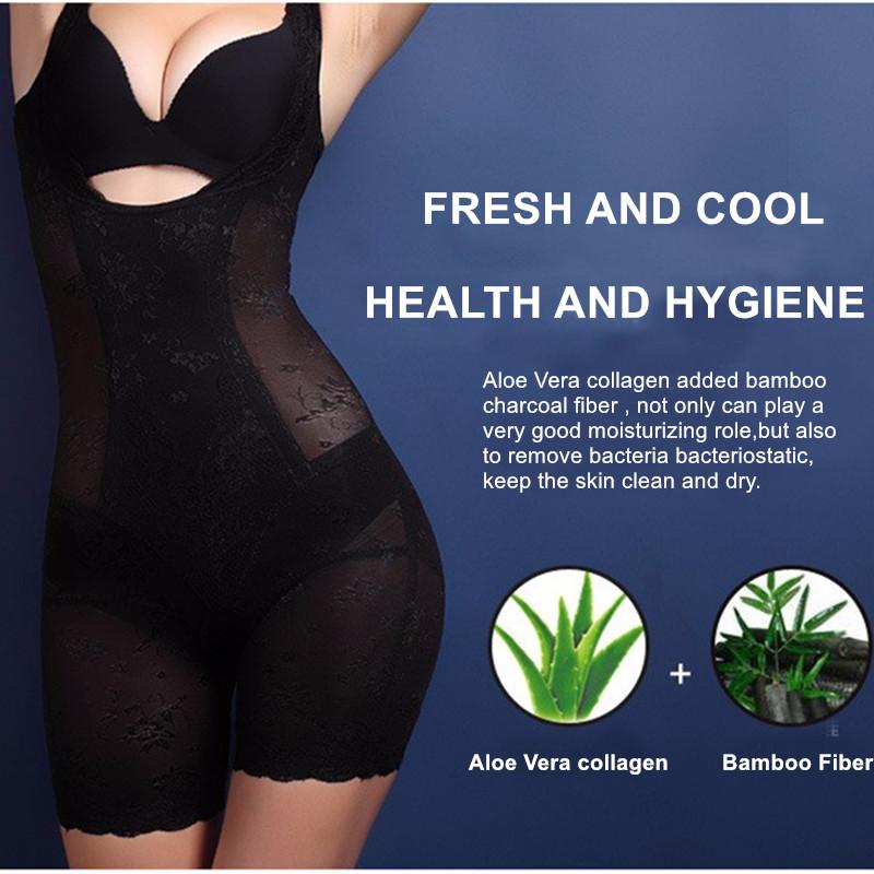 Lady Slim Underwear Lace Floral Pregnancy Shape wear Postpartum Corset Lose Weight Body Shaper Elastic Breathable-SheSimplyShops