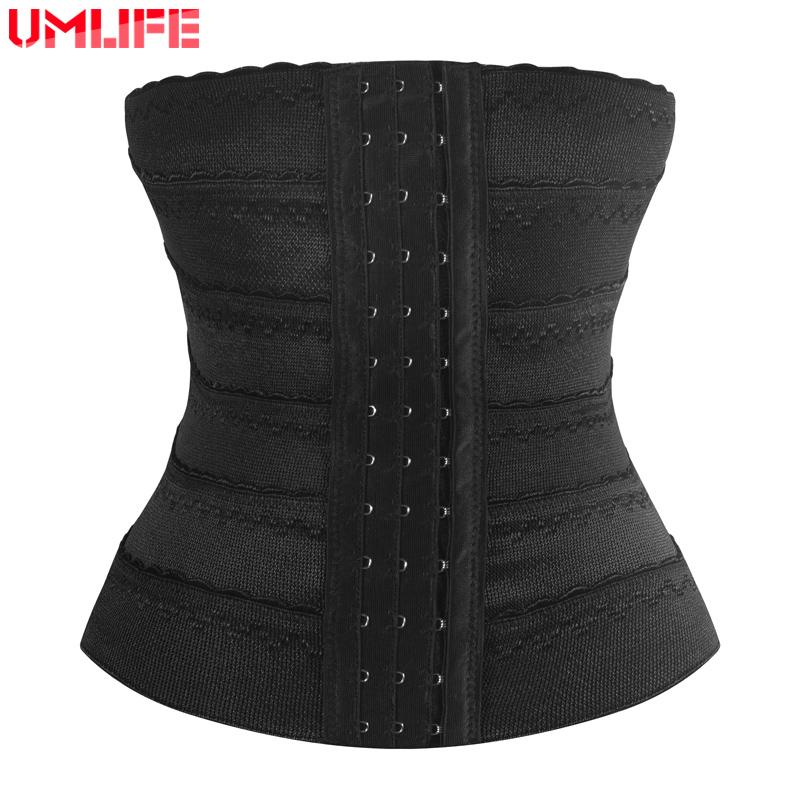 Women Elastic Postpartum Belt Waist Corset Slim Body Shape Training Weight Loss Belt Girdles-SheSimplyShops