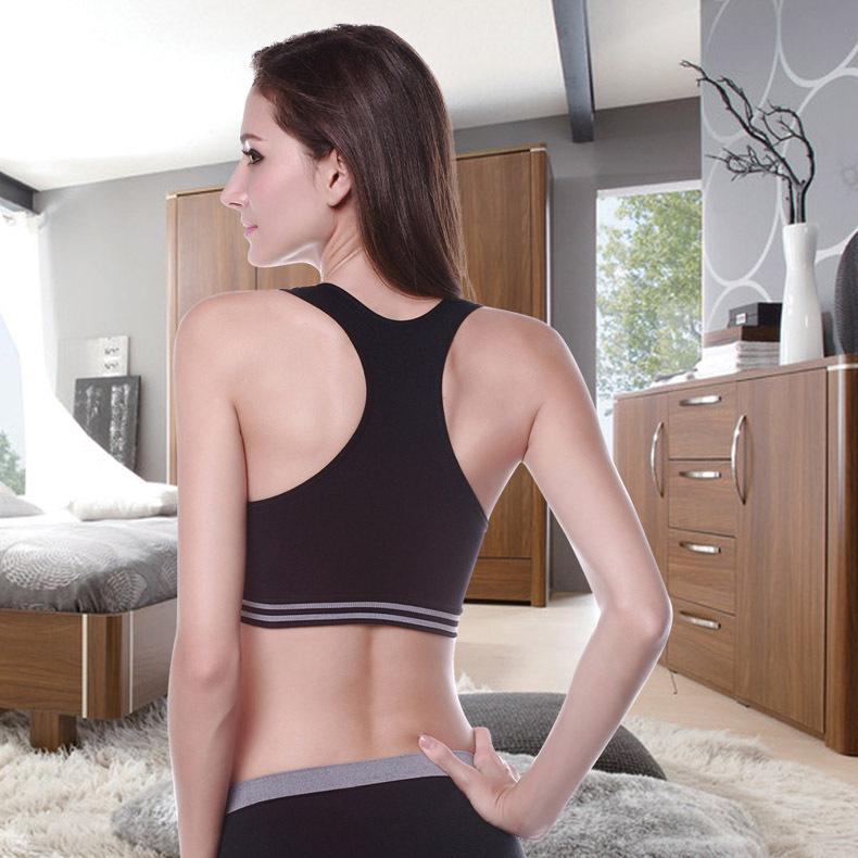 Women Sports Yoga Bra Push Up Bra Woman Fitness Seamless Underwear Padded Crop Tops for Woman Running Vest Tops Bra-SheSimplyShops